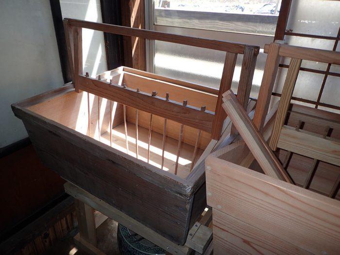 紙漉き体験道具(舟)
