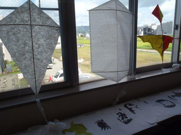 和紙を使った凧
