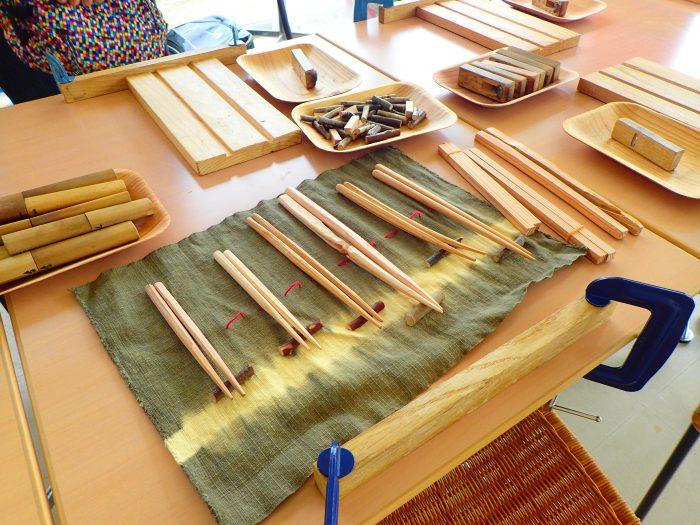 森林塾(箸作り)